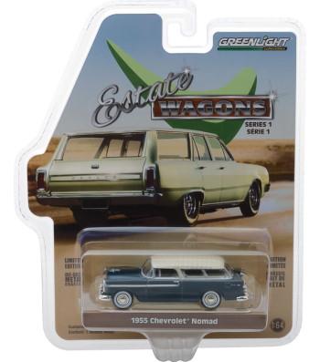 1955 Chevrolet Nomad - Glacier Blue and Shoreline Beige Solid Pack - Estate Wagons Series 1