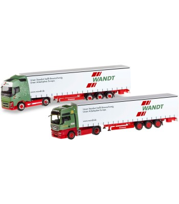 """ANNIVERSARY SET WITH TWO MODELS """"80 YEARS SPEDITION WANDT"""" (LOWER SAXONY / BRAUNSCHWEIG)"""