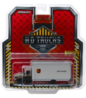 2013 International Durastar Box Van - United Parcel Service (UPS) Freight Solid Pack - H.D. Trucks Series 15