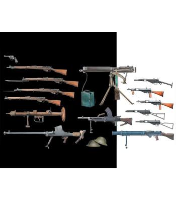1:35 British Infantry Weapons, WW II era