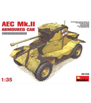 1:35 AEC Mk 2 Armoured Car