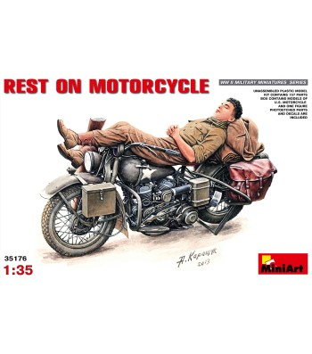 1:35 Rest on Motorcycle