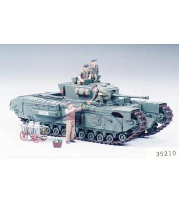1:35 British Infantry Tank Mk.IV Churchill Mk.VII - 6 figures