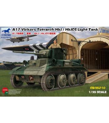 1:35 A17 Vickers Tetrarch MkI / MkICS Light Tank