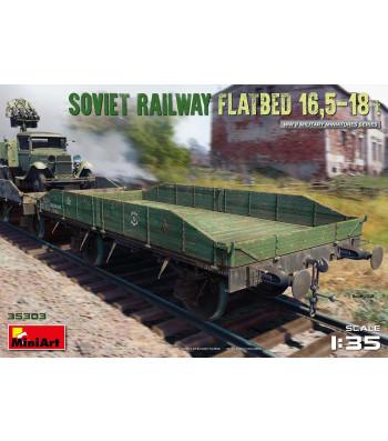 1:35 Soviet Railway Flatbed 16,5-18 t