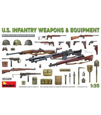 1:35 U.S. Infantry Weapons & Equipment