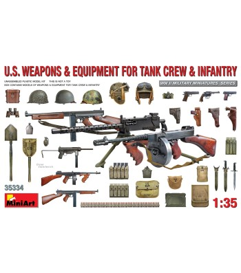 1:35 U.S. Weapons & Equipment for Tank Crew & Infantry