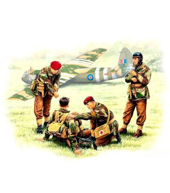 1:35 British paratroopers, 1944. Kit 2  - 4 figures