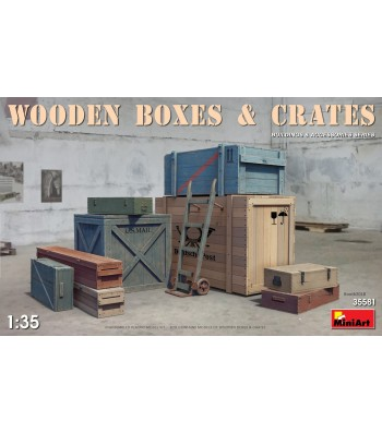 1:35 Wooden Boxes & Crates