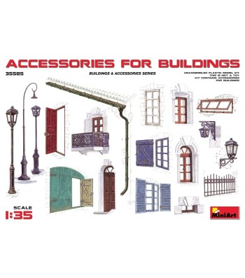 1:35 Accessories for Buildings