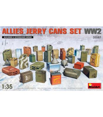 1:35 Allies Jerry Cans Set WW2