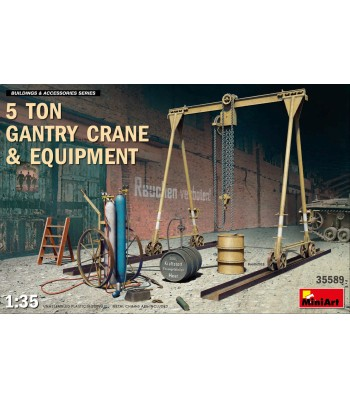 1:35 5 Ton Gantry Crane & Equipment