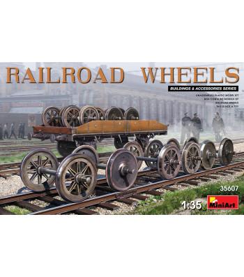 1:35 Railroad Wheels