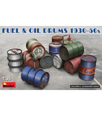 1:35 Fuel & Oil Drums 1930-50s