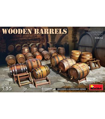 1:35 Wooden Barrels