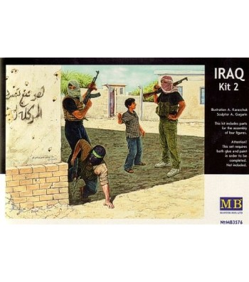 1:35 Iraq events. Kit #2, Insurgence - 4 figures