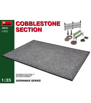 1:35 Cobblestone section