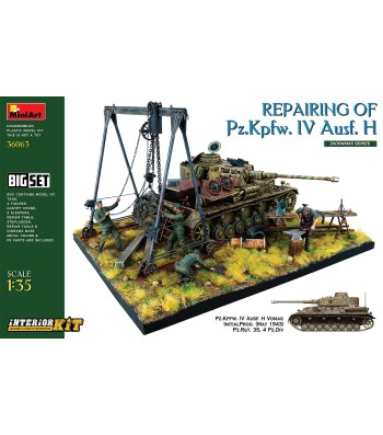 1:35 Repairing of Pz.Kpfw. IV Ausf. H. Big Set