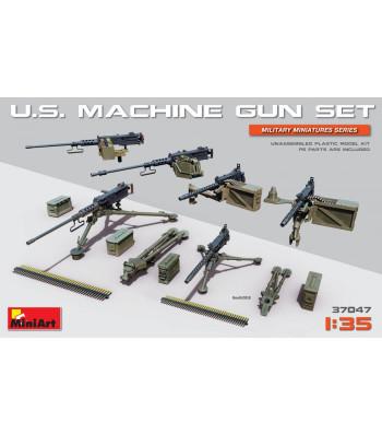 1:35 U.S. Machine Gun Set (with photo-etched parts)
