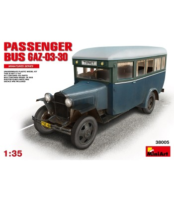 1:35 Passanger Bus GAZ-03-30