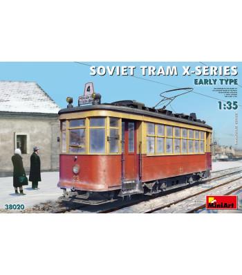 1:35 Soviet Tram X-Series. Early Type