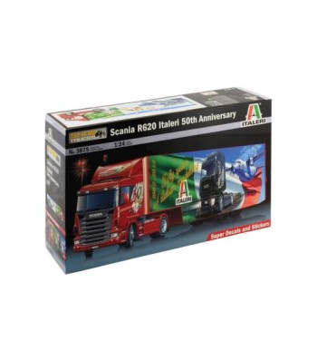 1:24 Scania R620 Italeri 50th Anniversary (Truck+trailer)
