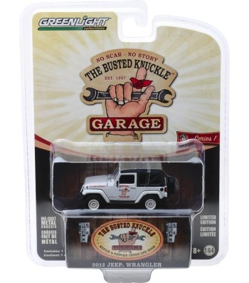 "2012 Jeep Wrangler ""Off Road Adventures"" Solid Pack - Busted Knuckle Garage Series 1"