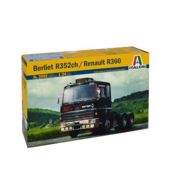 1:24 BERLIET 352ch / RENAULT R360 6x4