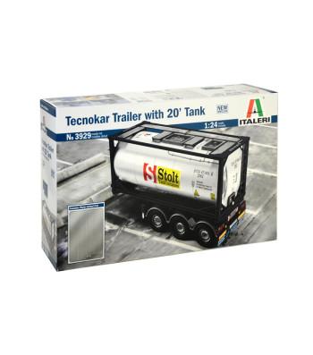 1:24 TECNOKAR TRAILER with  20ft TANK