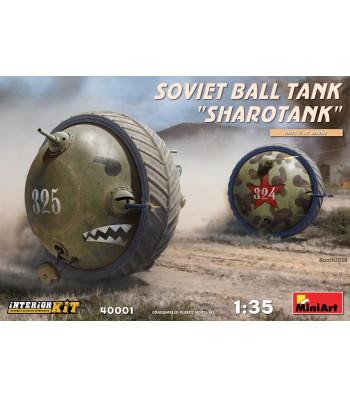 1:35 Soviet Ball Tank Sharotank Interior Kit