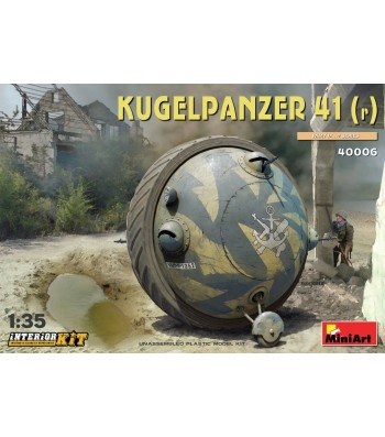 1:35 Kugelpanzer 41( r ). Interior Kit
