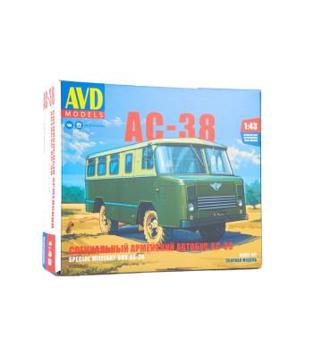AS-38 military bus - Die-cast Model Kit