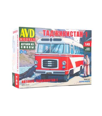 Tajikistan-1 bus - Die-cast Model Kit