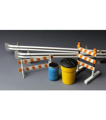 1:35 Barricades & Highway Guardrail