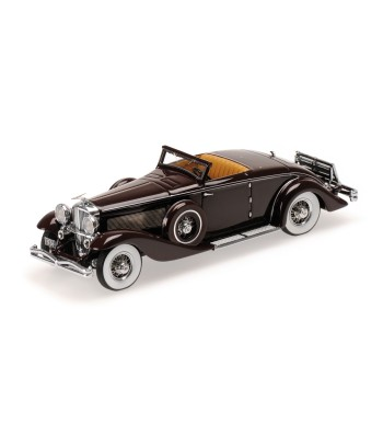 DUESENBERG MODEL J TORPEDO CONVERTIBLE COUPE - 1929 - BLACK