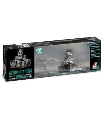 1:700 World of Warships - German Battleship Bismarck