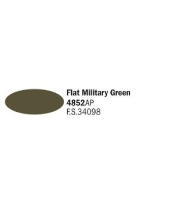 Flat Military Green  - Acrylic Paint (20 ml)
