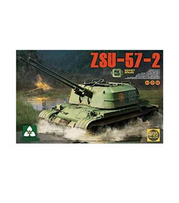 1:35 Soviet SPAAG ZSU-57-2  2 in 1
