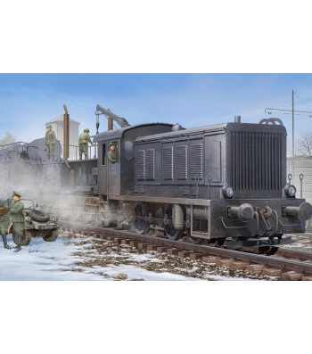 1:72 German WR360 C12 Locomotive