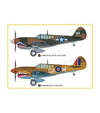 1:48 P-40M Kitty Hawk Fighter