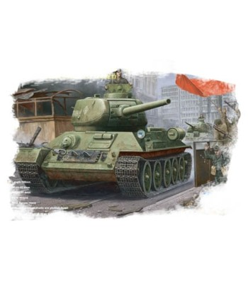 1:48 Russian T-34/85 (1944 angle-jointed turret) tank