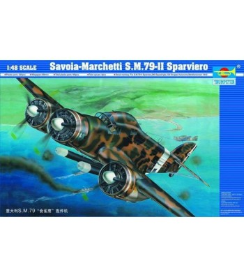 1:48   Aircraft-Savoia Marchetti SM.79-II