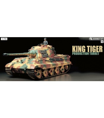 1:16 R/C KING TIGER w/Option Kit