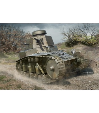 1:35 Soviet T-18 Light Tank MOD1927