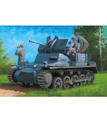 1:35  German Flakpanzer IA w/Ammo.Trailer