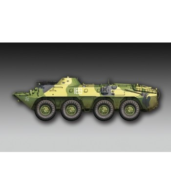 1:72 Russian BTR-70 APC late version