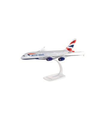 1:250 British Airways Airbus A380 - snap-fit