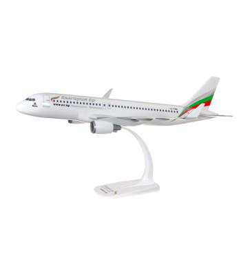 1:100 Bulgaria Air A320-200  - snap fit