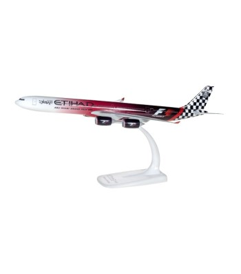 "1:250 Etihad Airways Airbus A340-600 ""Abu Dhabi Grand Prix"" – snap-fit"