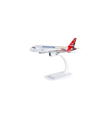 """1:200 CSA Czech Airlines Airbus A319 """"Prague - City of Magic"""" - snap-fit"""